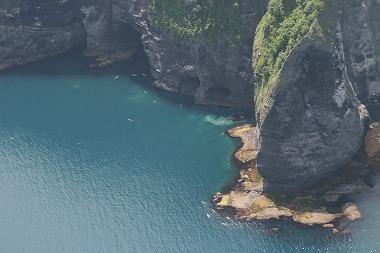 オタモイの海岸