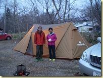 二人でキャンプ nomuさん&コーさん